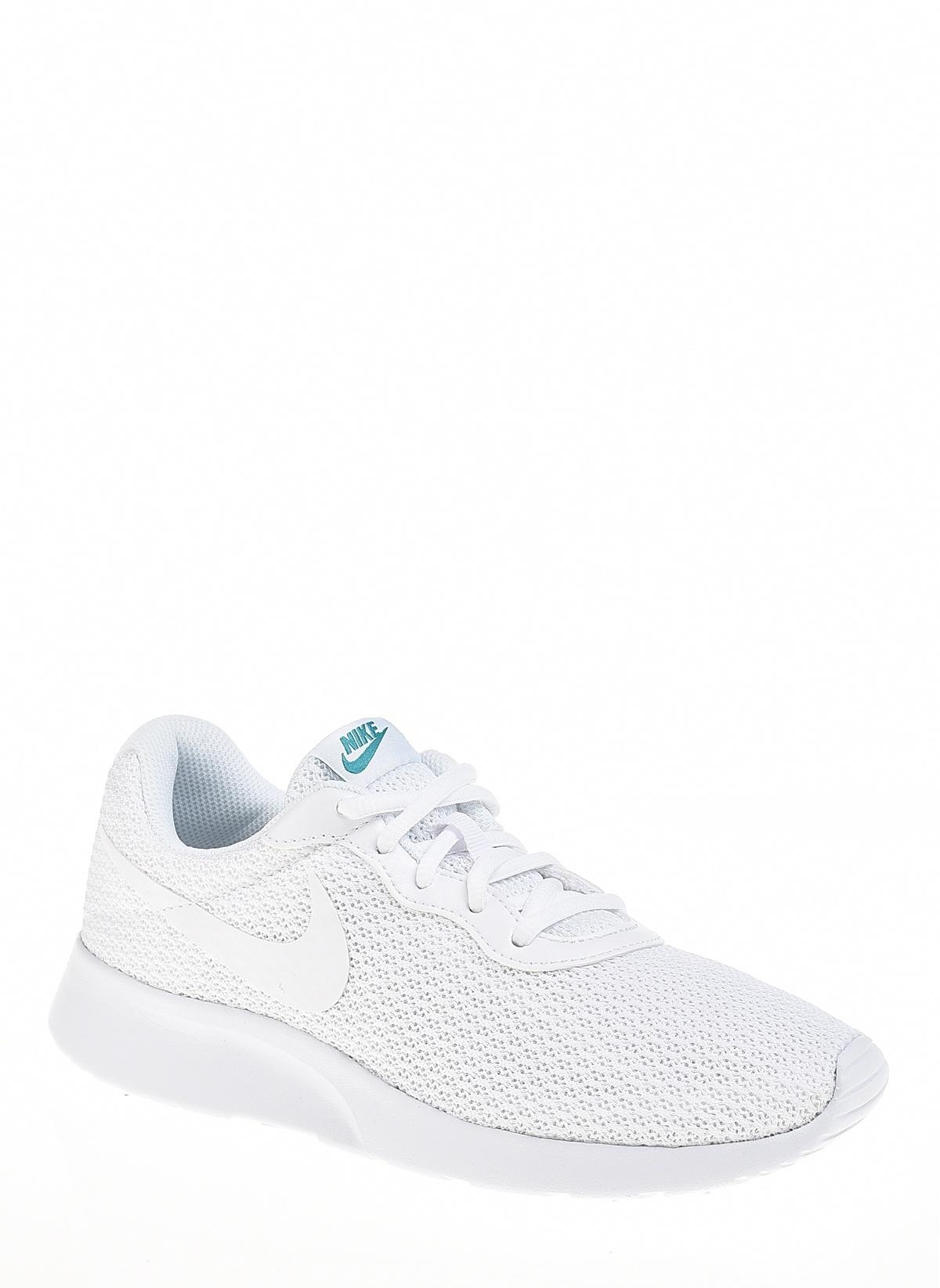 8a1781ce Nike Kadın Tanjun White/White-Spirit Teal İndirimli Fiyat   Morhipo ...